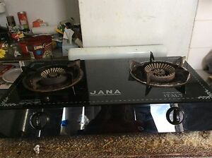 Gas stove 2 burner gas hob & 2 gas cylinders bottles 9 kg 5 kg Bankstown Bankstown Area Preview