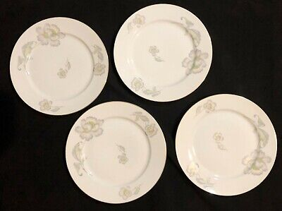 THOMAS ROSENTHAL GERMANY PASTEL POPPY - DINNER PLATE - LOT OF 4 Thomas Pastel