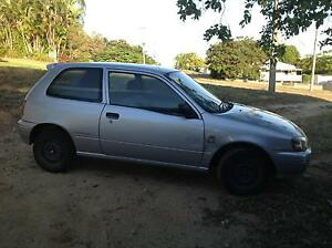 1997 Toyota Starlet Hatchback Lissner Charters Towers Area Preview