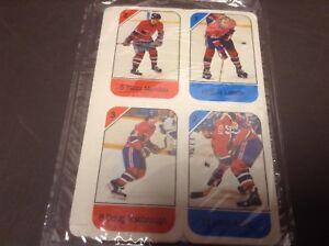 Carte hockey céréales Post 82-83 Canadiens Guy Lafleur