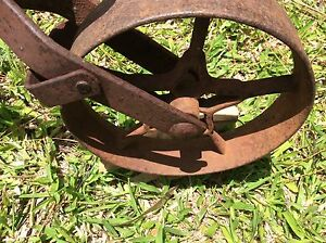 OLD SCUFFLER PLOUGH  EARLY 1900's Dayboro Pine Rivers Area Preview