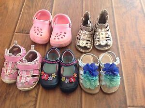 Girls shoes - toddler size 5