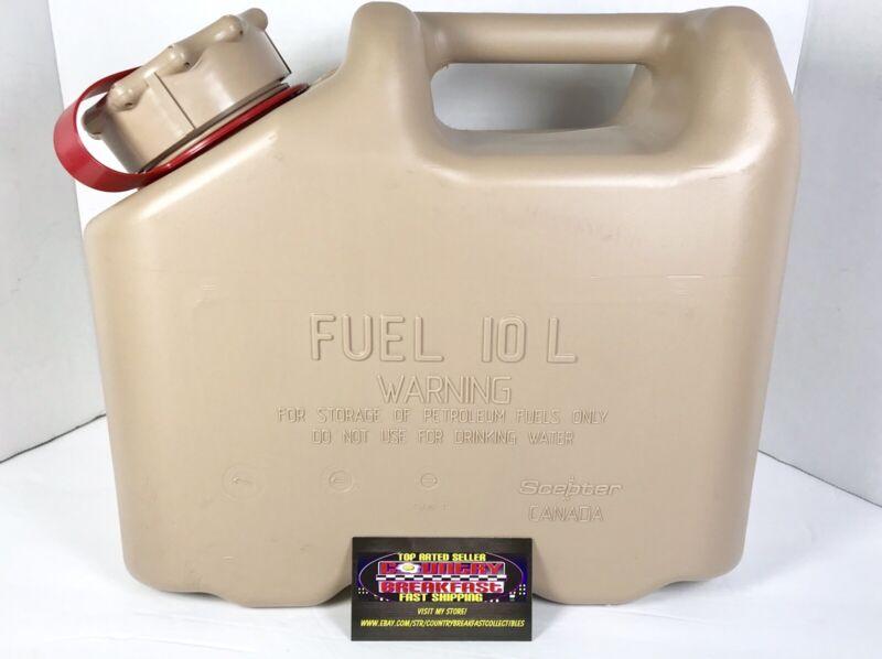 Scepter Desert Tan Military Fuel Can MFC 2.5 Gallon / 10 L - Brand New!
