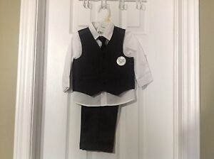 Baby boy/toddler 4 pc suit