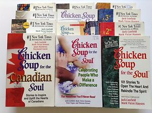 12 Chicken Soup for the Soul books