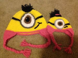 Minion Hats - doll and child