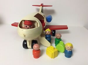 Fisher Price vintage Little People Jet