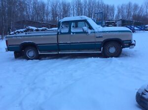 1992 Dodge Cummings 250 extended cab truck