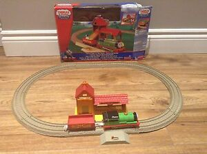 THOMAS AND FRIENDS Trackmaster set (Percy) $20