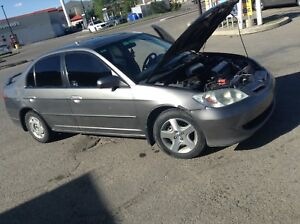 2005 honda civic  si sports 5 speed fully loaded no issues