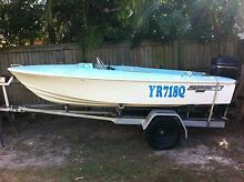 Haines Hunter V133 - Fully Registered Boat & Trailer 12months Maroochydore Maroochydore Area Preview