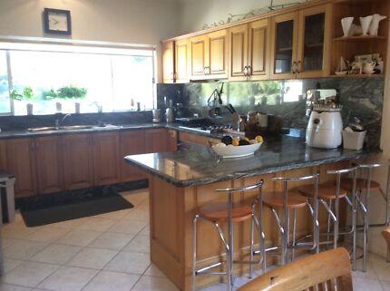 Kitchen complete Tasmanian solid oak &Granite BenchTop IiLVE appl Monterey Rockdale Area Preview