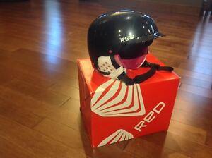 Women's snowboard helmet