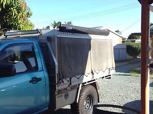 Custom ally/canvas canopy suit single cab Burpengary Caboolture Area Preview
