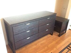 6 drawer dresser and night stand (Ashley Furniture)