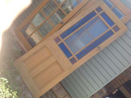 Doors with beautiful glass panels & White doors for sale | Building Materials | Gumtree Australia ...