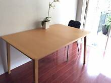 Extendable Dining Table up to 10 seats plus 4 charis for sale Lane Cove North Lane Cove Area Preview