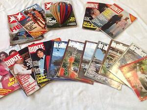German magazines, late 1970's Rose Park Burnside Area Preview