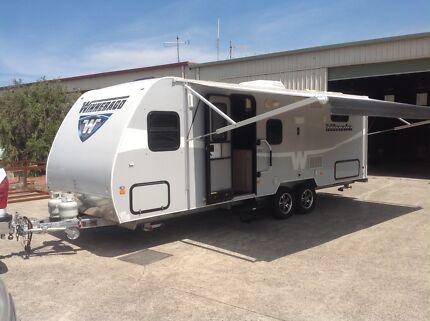 Winnebago caravan 24ft bunk van