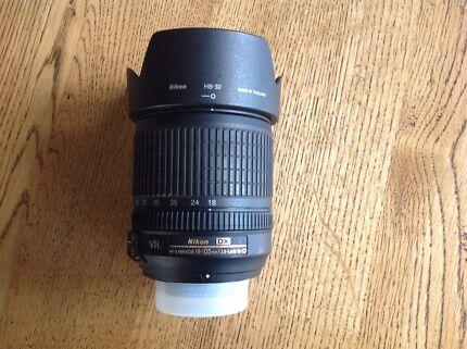 Nikon Nikkor 18-105mm 1:3.5-5.6 G ED Zoom Lens