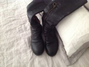 Fiorentini and baker leather boots - woman's