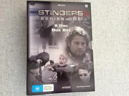 Stingers season 1,2,3.