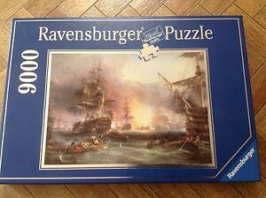 Jigsaw 9000-piece puzzle Ravensburger Made in Germany. Panorama Mitcham Area Preview