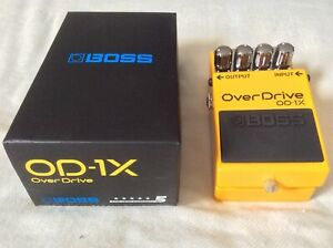 BOSS OD-1X - LIKE NEW IN BOX