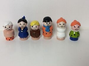 Fisher Price vintage Little People as The Flintstones
