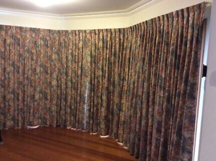 Curtains Ideas blackout pinch pleat curtains : Curtains 2 sets pinch pleated | Curtains & Blinds | Gumtree ...