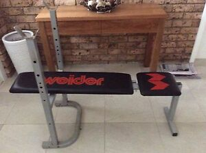 Weight training bench Killarney Heights Warringah Area Preview