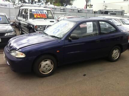 1997 Hyundai Excel Hatchback auto Para Hills West Salisbury Area Preview