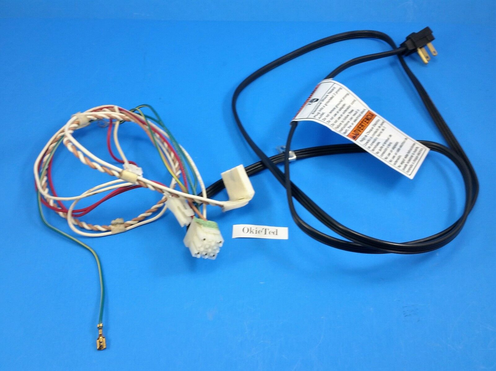 w10405935 whirlpool refrigerator power cord wire harness b3 5b you re almost done w10405935 whirlpool refrigerator power cord wire harness