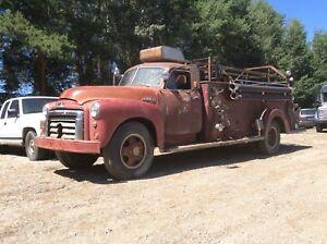 1954 GMC Fire Truck