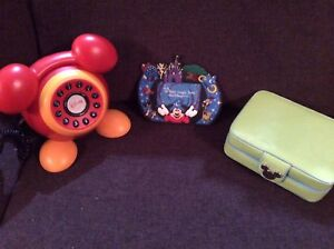 Assortiment d'objets Disney