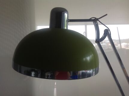 Reduced contemporary modern retro look floor lamp great colour