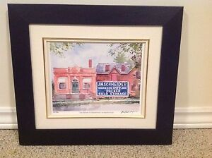 Limited Edition JM Schneiders Meats Print