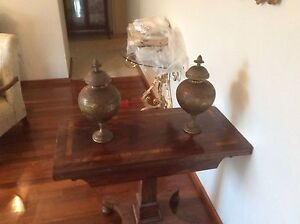 Pair of Brass Urns Wembley Downs Stirling Area Preview