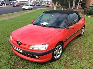 1998 Peugeot 306 Convertible 4 Cyl Auto Low KM's Cool Car Woodbine Campbelltown Area Preview