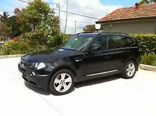 2004 BMW X3 3.0i Sports, Metallic Black, Black Leather Elanora Heights Pittwater Area Preview