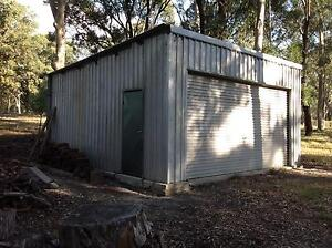 Secure Double Garage / Farm Shed + Open Shed Maitland Area Preview