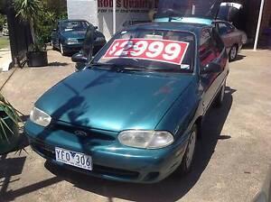 1997 Ford Fiesta Coupe (SN: 384 - YFO-306) Preston Darebin Area Preview