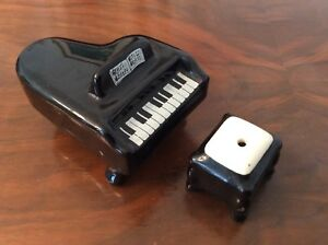 Piano Salt and Pepper Shakers