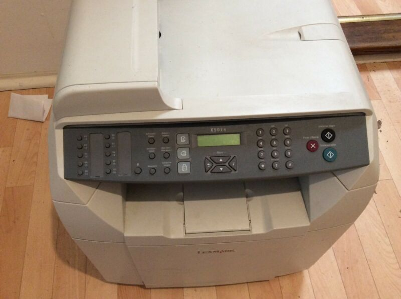 LEXMARK X502N PRINTER DRIVER FOR WINDOWS 8