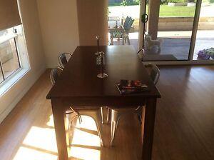 9hard wood blue gum tables 1mtr x1mtr SQ Vincentia Shoalhaven Area Preview