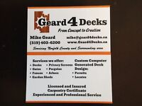 Deck Special for Spring!