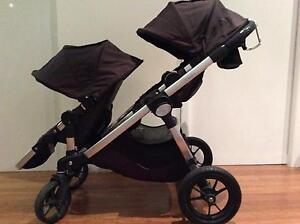 City Select double pram with bassinet Edithvale Kingston Area Preview