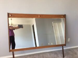 Large dresser mirror you can put in wall too,61 by 37 inch