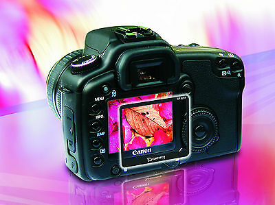Multicoated Tempered Glass LCD Protector for Canon EOS 1D / 1Ds Mark III