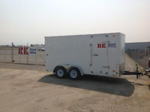 Moving / storage trailers available for rent